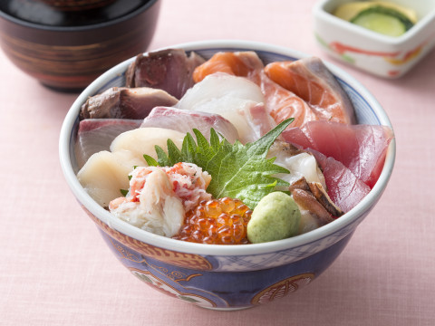 海鮮丼132